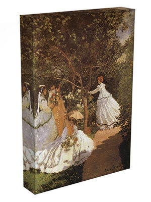 Femmes au jardin 1867 by Monet Canvas Print & Poster - Canvas Art Rocks - 3