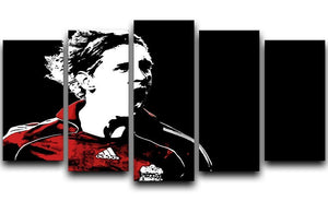 Fernando Torres 5 Split Panel Canvas  - Canvas Art Rocks - 1