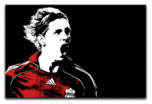 Fernando Torres Print - Canvas Art Rocks - 1