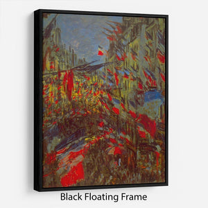 Festivities by Monet Floating Frame Canvas