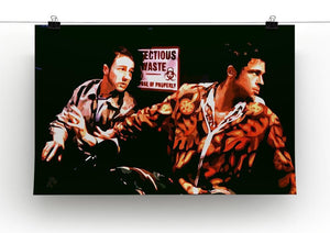 Fight Club Pop Art Canvas Print or Poster - Canvas Art Rocks - 2