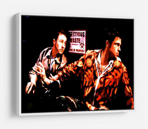 Fight Club Pop Art HD Metal Print