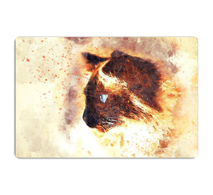 Fire Cat Painting HD Metal Print