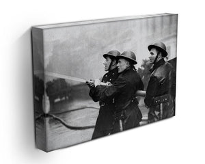 Firefighters morning after air raids London Canvas Print or Poster - Canvas Art Rocks - 3