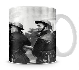 Firefighters morning after air raids London Mug - Canvas Art Rocks - 1