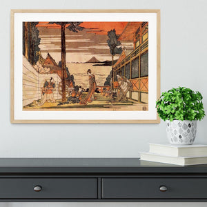 First act by Hokusai Framed Print - Canvas Art Rocks - 3