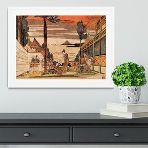 First act by Hokusai Framed Print - Canvas Art Rocks - 5