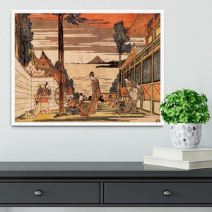 First act by Hokusai Framed Print - Canvas Art Rocks -6