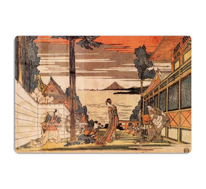 First act by Hokusai HD Metal Print