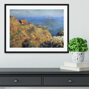 Fishermans lodge at Varengeville by Monet Framed Print - Canvas Art Rocks - 1