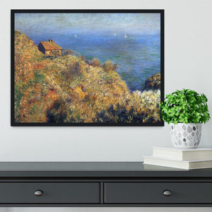 Fishermans lodge at Varengeville by Monet Framed Print - Canvas Art Rocks - 2