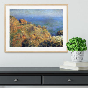 Fishermans lodge at Varengeville by Monet Framed Print - Canvas Art Rocks - 3