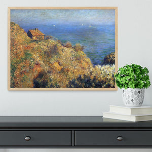 Fishermans lodge at Varengeville by Monet Framed Print - Canvas Art Rocks - 4