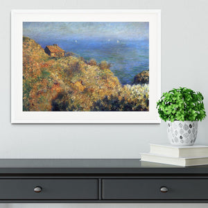 Fishermans lodge at Varengeville by Monet Framed Print - Canvas Art Rocks - 5