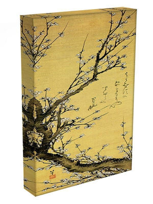 Flowering plum by Hokusai Canvas Print or Poster - Canvas Art Rocks - 3