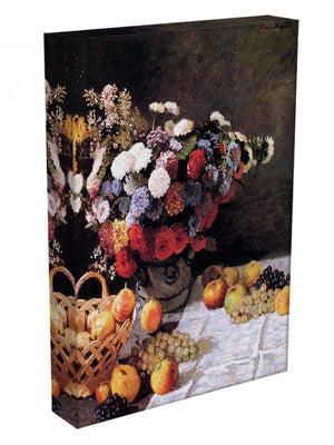 Flowers and Fruits by Monet Canvas Print & Poster - Canvas Art Rocks - 3