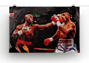 Floyd Mayweather Knockout Canvas Print or Poster - Canvas Art Rocks - 2