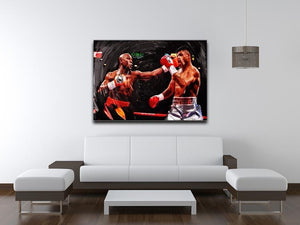Floyd Mayweather Knockout Canvas Print or Poster - Canvas Art Rocks - 4