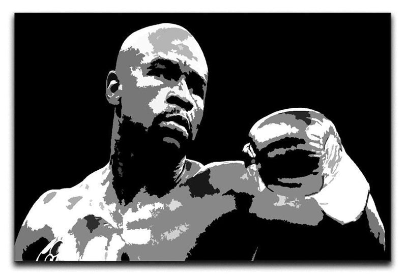 Floyd Mayweather Pop Art Canvas Print or Poster  - Canvas Art Rocks - 1