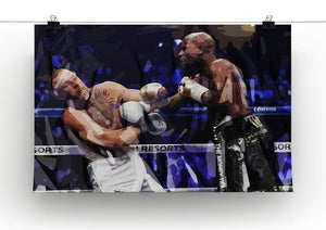 Floyd Mayweather vs Conor McGregor Canvas Print or Poster - Canvas Art Rocks - 2