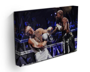 Floyd Mayweather vs Conor McGregor Canvas Print or Poster - Canvas Art Rocks - 3