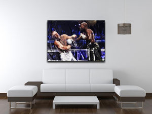 Floyd Mayweather vs Conor McGregor Canvas Print or Poster - Canvas Art Rocks - 4