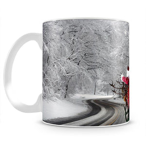Flying Santa Mug - Canvas Art Rocks - 2