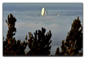 Fog at Jodrell Bank Canvas Print or Poster - Canvas Art Rocks - 1