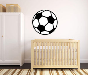 Football Wall Sticker - Canvas Art Rocks