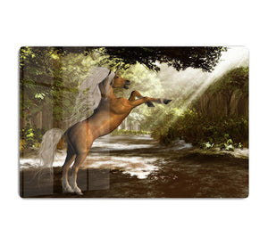 Forest Unicorn HD Metal Print