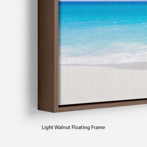 Foul Bay Barbados Floating Frame Canvas - Canvas Art Rocks - 8