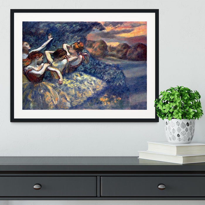 Four Dancers by Degas Framed Print