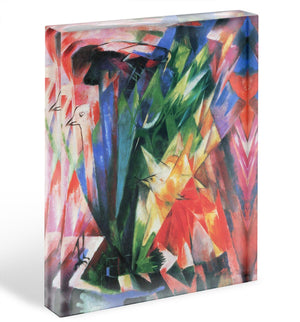 Fowl by Franz Marc Acrylic Block - Canvas Art Rocks - 1