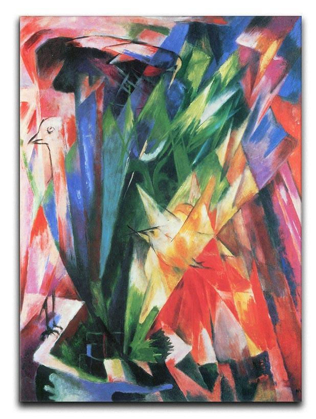 Fowl by Franz Marc Canvas Print or Poster