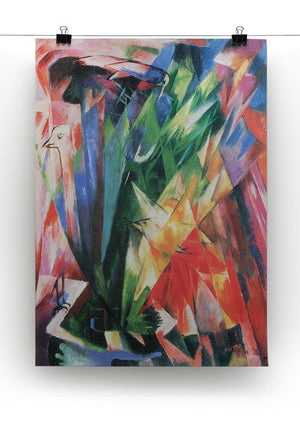 Fowl by Franz Marc Canvas Print or Poster - Canvas Art Rocks - 2
