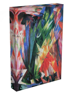 Fowl by Franz Marc Canvas Print or Poster - Canvas Art Rocks - 3