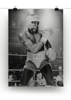 Frank Bruno in 1984 Canvas Print or Poster - Canvas Art Rocks - 2