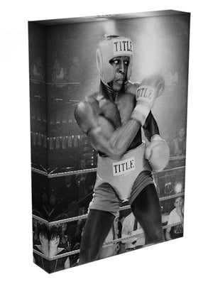 Frank Bruno in 1984 Canvas Print or Poster - Canvas Art Rocks - 3