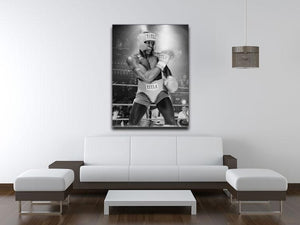 Frank Bruno in 1984 Canvas Print or Poster - Canvas Art Rocks - 4