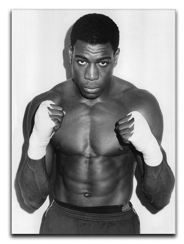 Frank Bruno in 1986 Canvas Print or Poster  - Canvas Art Rocks - 1