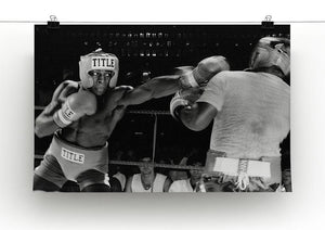 Frank Bruno sparring Canvas Print or Poster - Canvas Art Rocks - 2