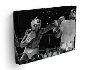 Frank Bruno sparring Canvas Print or Poster - Canvas Art Rocks - 3