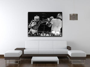 Frank Bruno sparring Canvas Print or Poster - Canvas Art Rocks - 4