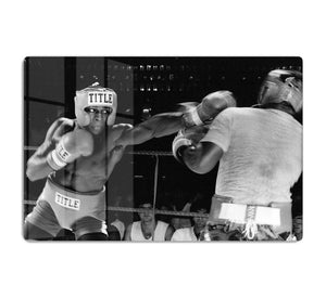 Frank Bruno sparring HD Metal Print