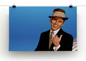 Frank Sinatra Pop Art Canvas Print or Poster - Canvas Art Rocks - 2
