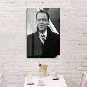 Frank Sinatra at airport HD Metal Print