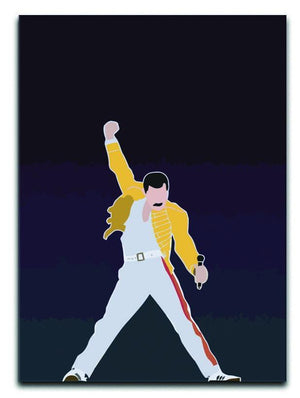 Freddie Mercury Iconic Canvas Print or Poster  - Canvas Art Rocks - 1