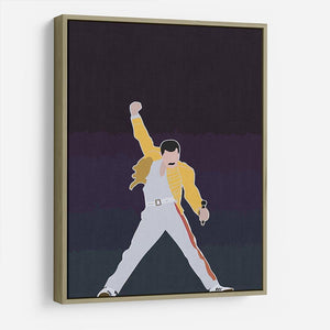 Freddie Mercury Iconic HD Metal Print