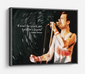 Freddie Mercury Rock Star HD Metal Print