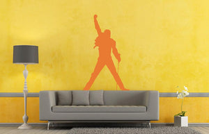 Freddie Mercury Wall Sticker - Canvas Art Rocks